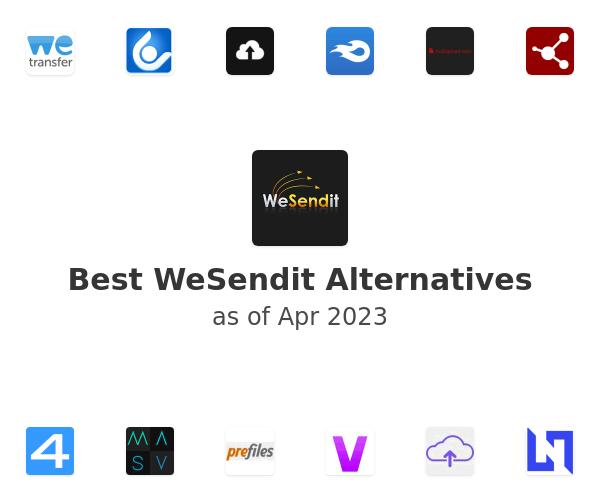 Best WeSendit Alternatives