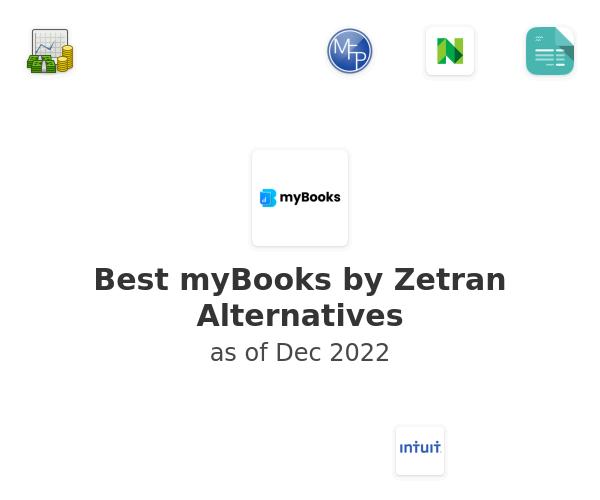 Best myBooks by Zetran Alternatives
