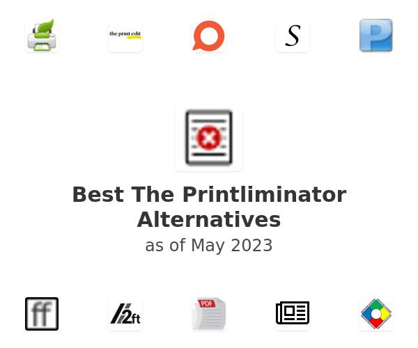 Best The Printliminator Alternatives