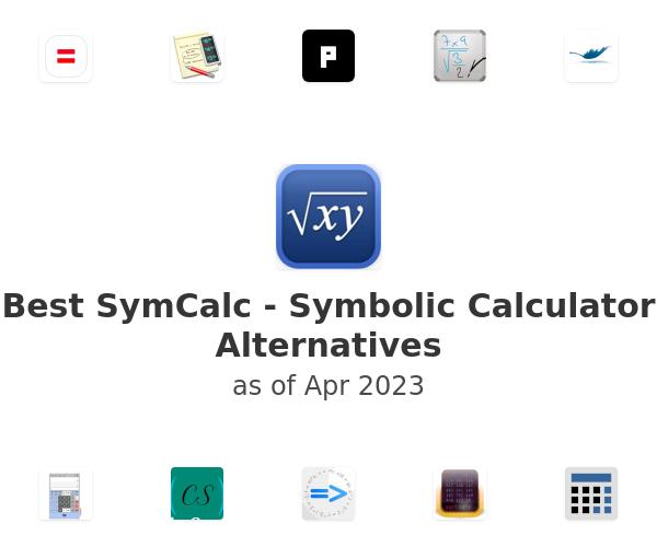 Best SymCalc - Symbolic Calculator Alternatives