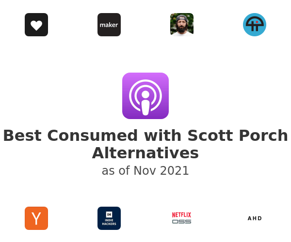 Best Consumed with Scott Porch Alternatives