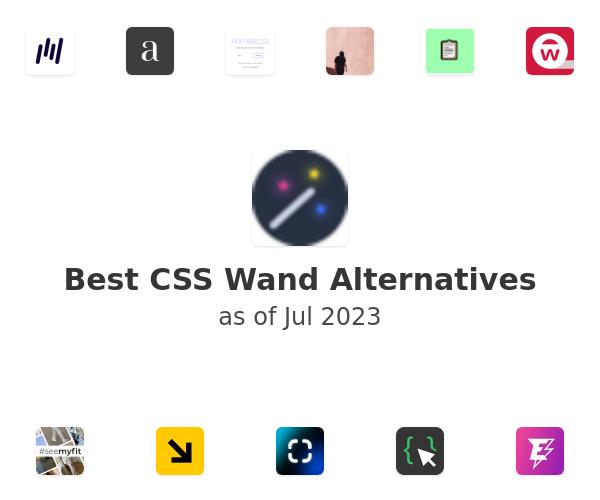Best CSS Wand Alternatives