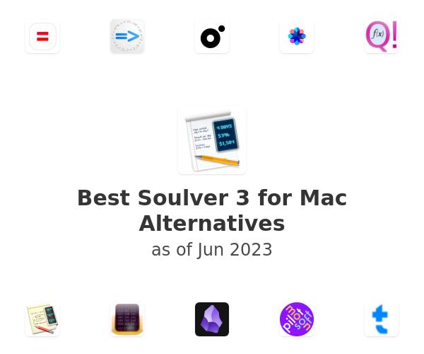 Best Soulver 3 for Mac Alternatives