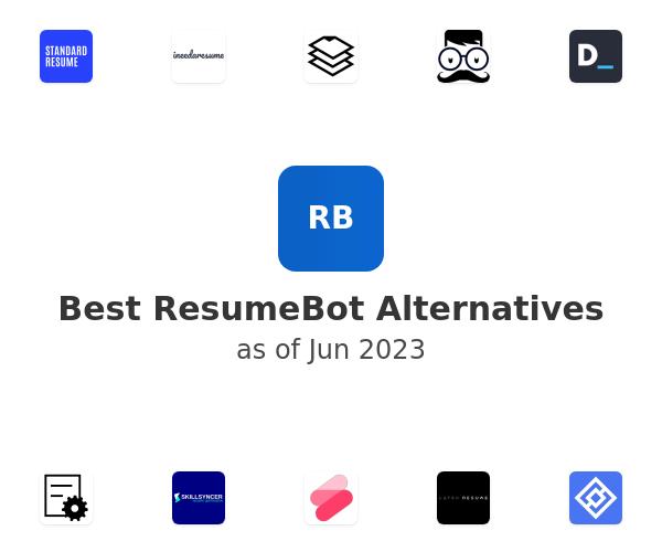 Best ResumeBot Alternatives