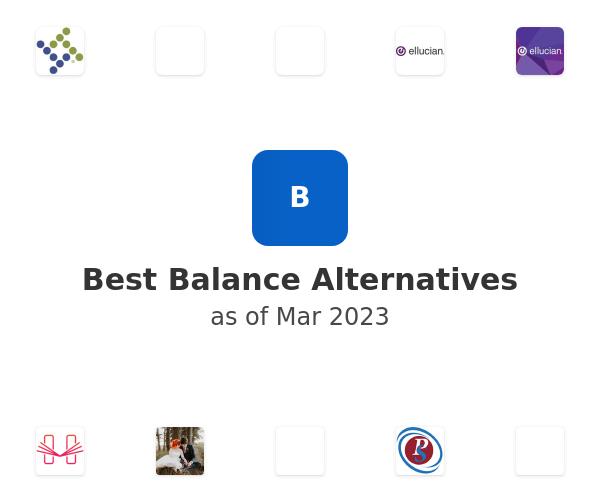 Best Balance Alternatives