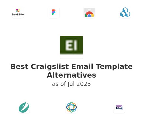 Best Craigslist Email Template Alternatives