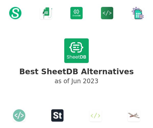 Best SheetDB Alternatives