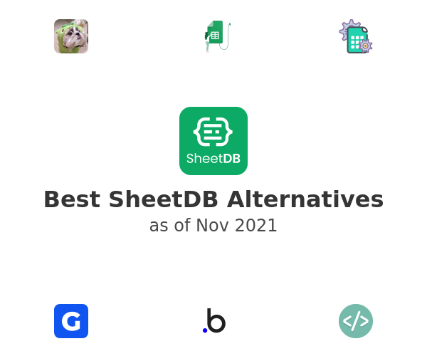 Best SheetDB Alternatives