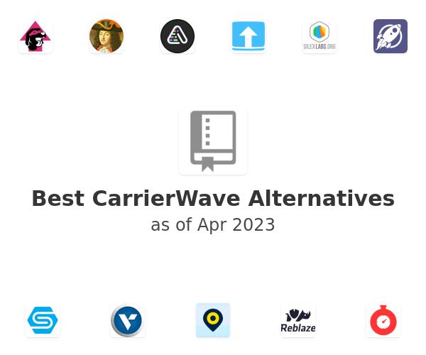Best CarrierWave Alternatives