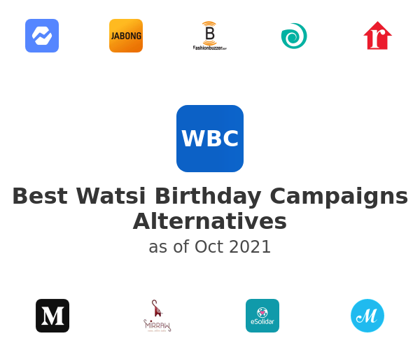 Best Watsi Birthday Campaigns Alternatives
