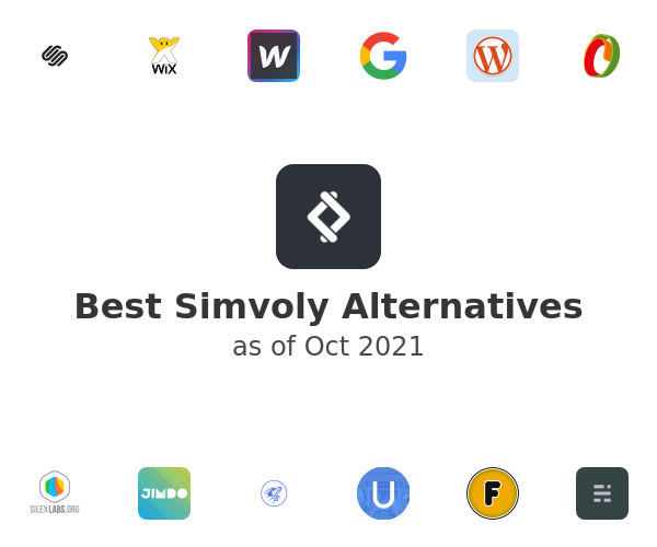 Best Simvoly Alternatives
