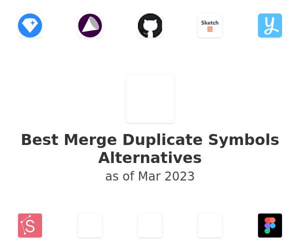 Best Merge Duplicate Symbols Alternatives