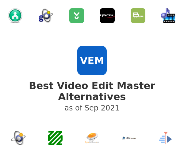 Best Video Edit Master Alternatives