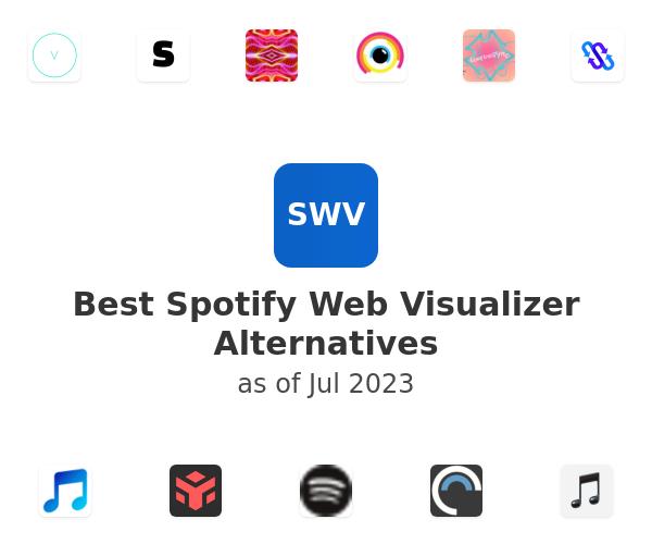 Best Spotify Web Visualizer Alternatives