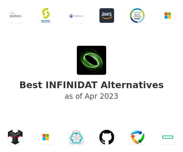 Best INFINIDAT Alternatives