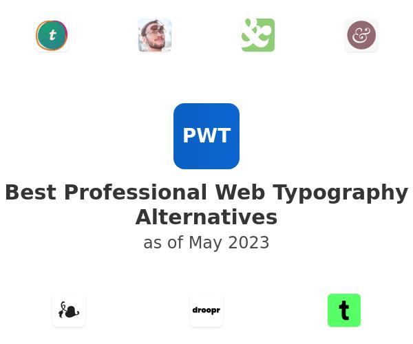 Best Professional Web Typography Alternatives