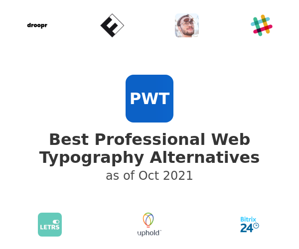 Best Professional Web Typography Alternatives