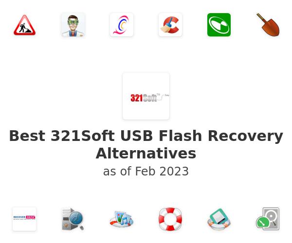 Best 321Soft USB Flash Recovery Alternatives
