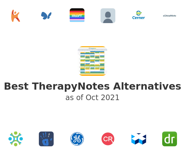Best TherapyNotes Alternatives