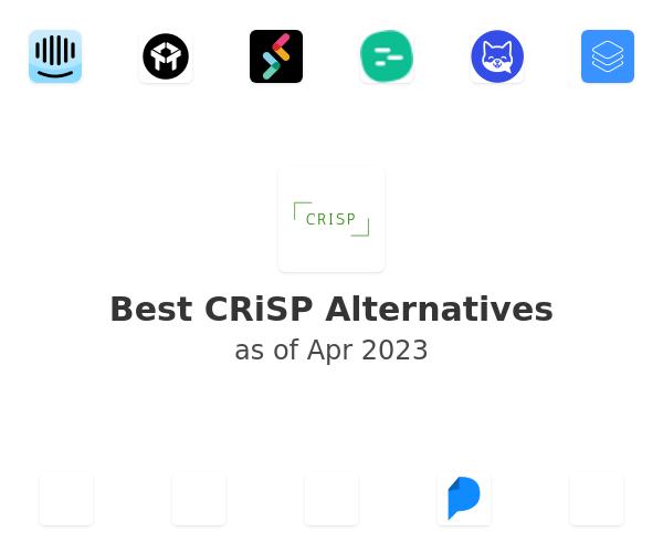 Best CRiSP Alternatives