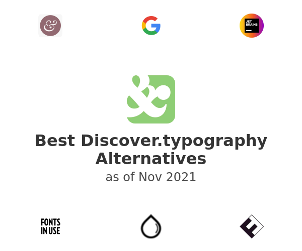 Best Discover.typography Alternatives