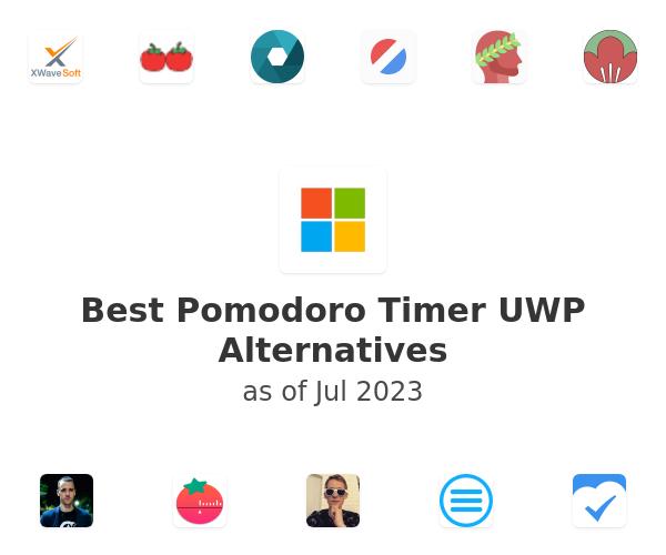 Best Pomodoro Timer UWP Alternatives