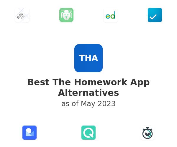 Best The Homework App Alternatives