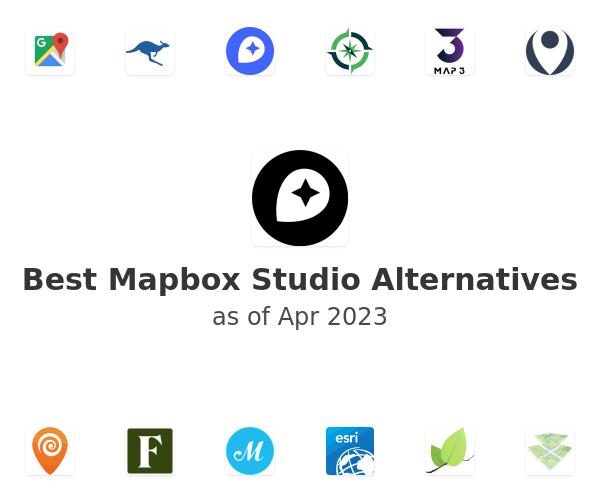 Best Mapbox Studio Alternatives