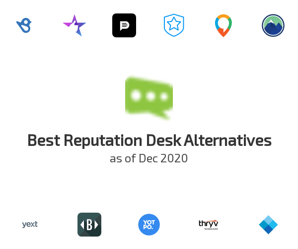 Best Reputation Desk Alternatives