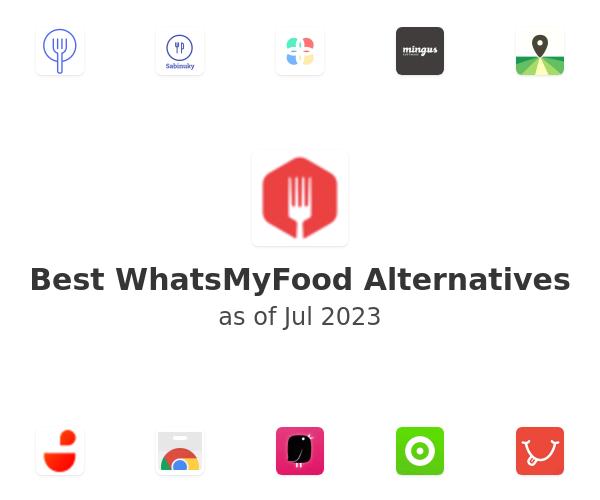 Best WhatsMyFood Alternatives