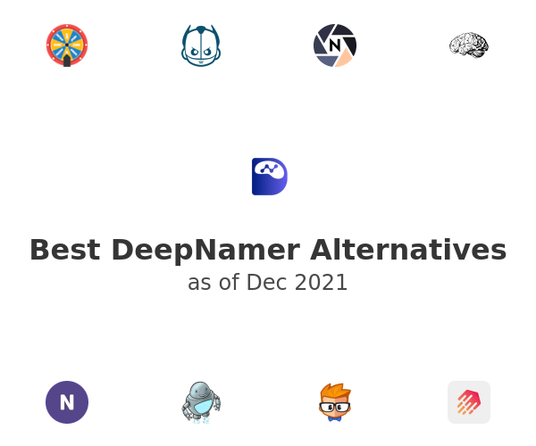Best DeepNamer Alternatives