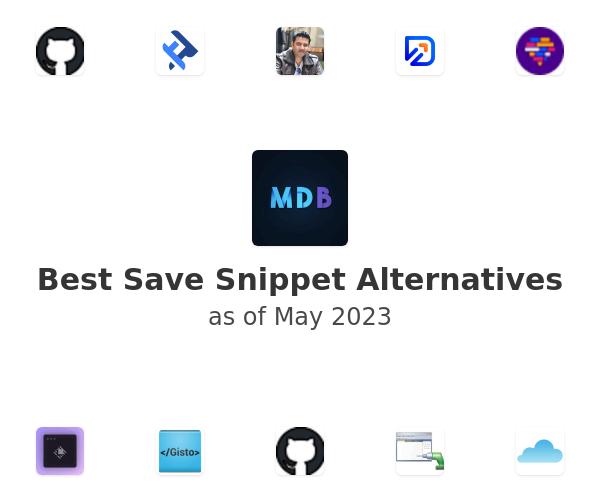 Best Save Snippet Alternatives
