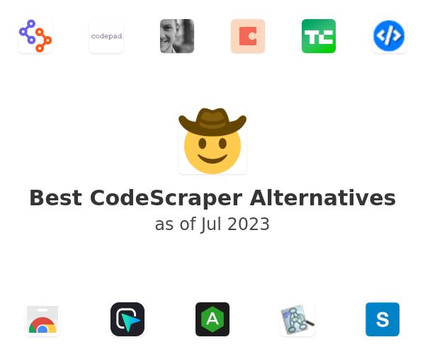 Best CodeScraper Alternatives