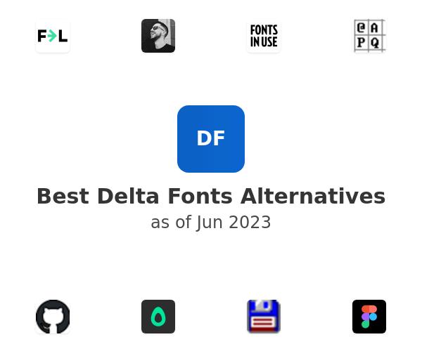 Best Delta Fonts Alternatives