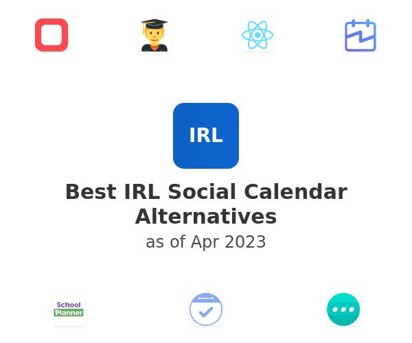 Best IRL Social Calendar Alternatives