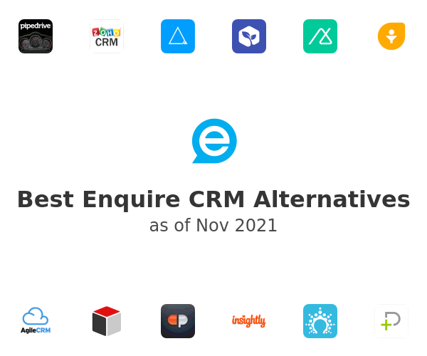 Best Enquire CRM Alternatives