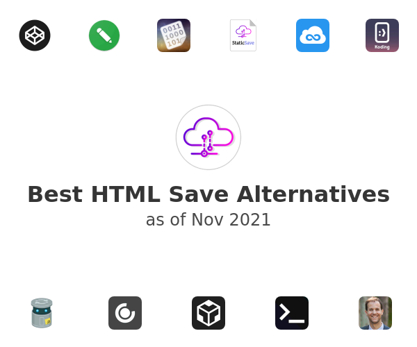 Best HTML Save Alternatives