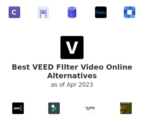 Best VEED FIlter Video Online Alternatives