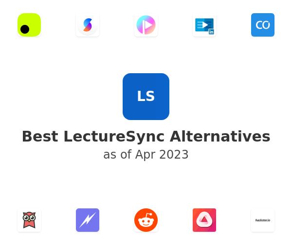 Best LectureSync Alternatives