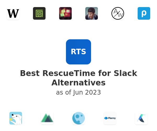 Best RescueTime for Slack Alternatives