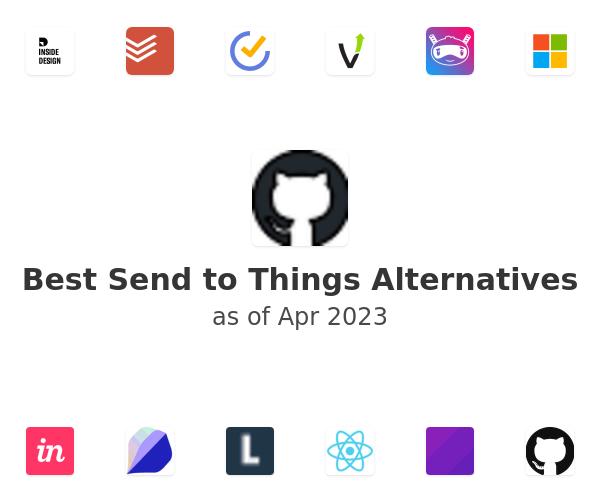Best Send to Things Alternatives