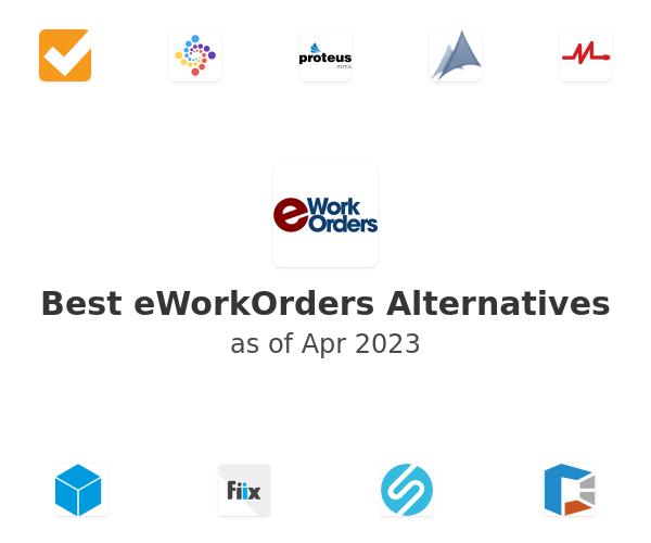 Best eWorkOrders Alternatives