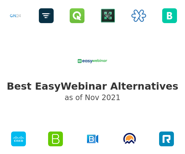 Best EasyWebinar Alternatives