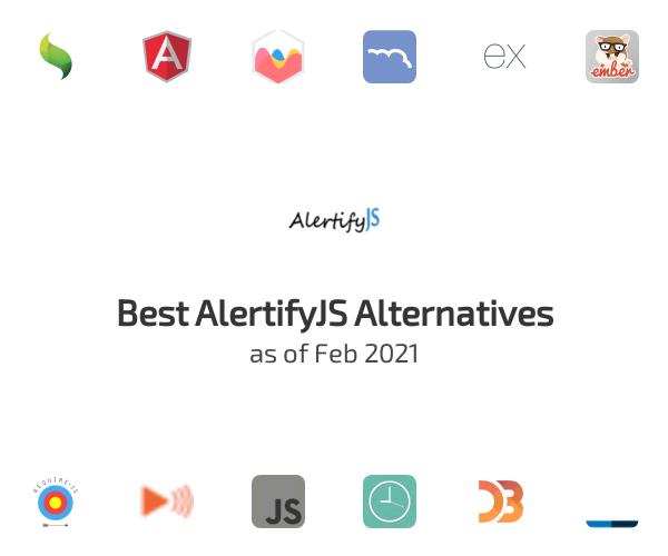 Best AlertifyJS Alternatives