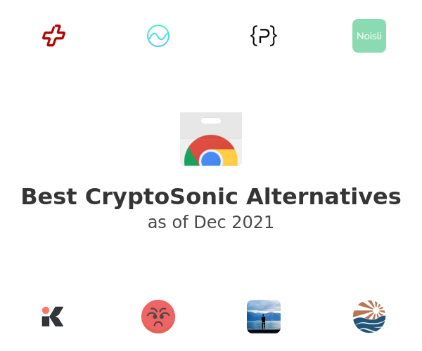 Best CryptoSonic Alternatives