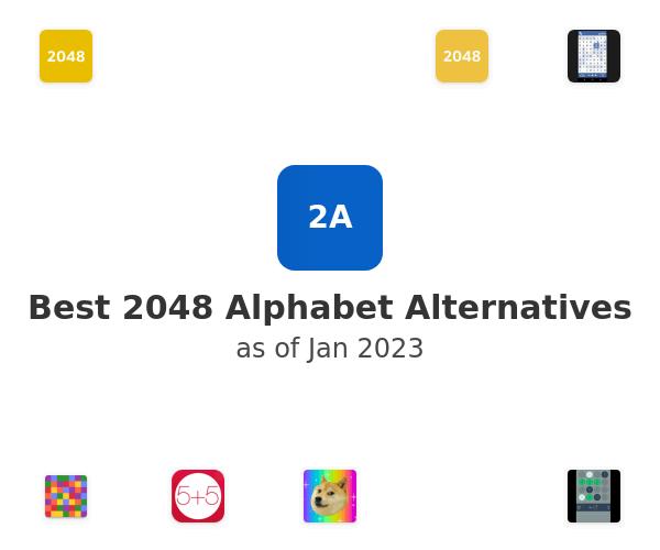 Best 2048 Alphabet Alternatives