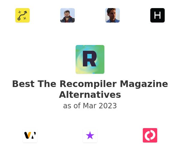 Best The Recompiler Magazine Alternatives