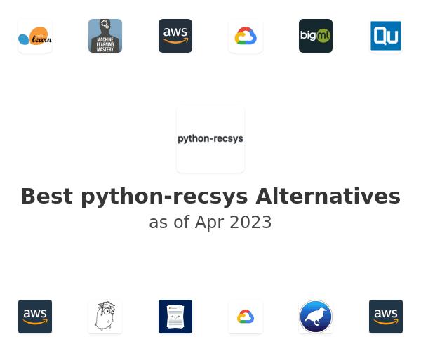 Best python-recsys Alternatives