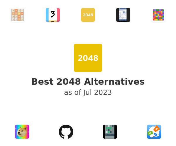 Best 2048 Alternatives