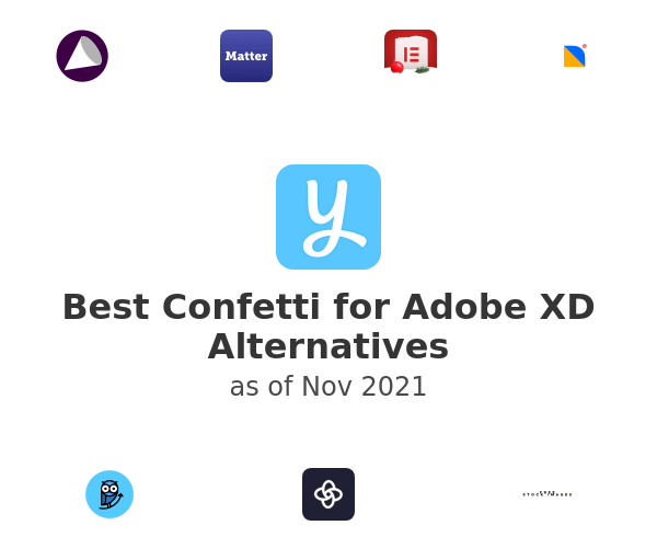 Best Confetti for Adobe XD Alternatives
